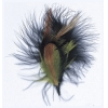 Hat Trims Feathers 10cm Black/Brown/Natural
